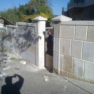 Muro de cierre de perpiaño