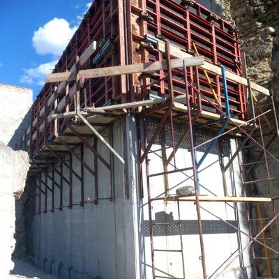 muro de Hormigon 6 metros de altura