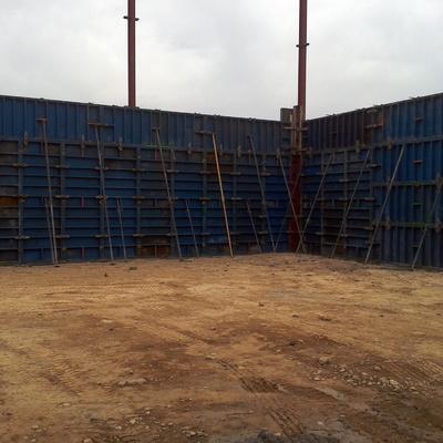 muro en granja