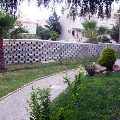 Muro en Urbanización El Carabasí