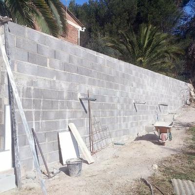 muros de bloques H