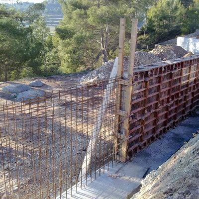 Muros de bloques de hormign with bloques de hormigon para muros de contencion with muros de - Muros de hormigon ...