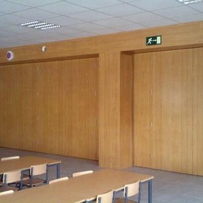 Carpintería en colegio de Coia en Vigo