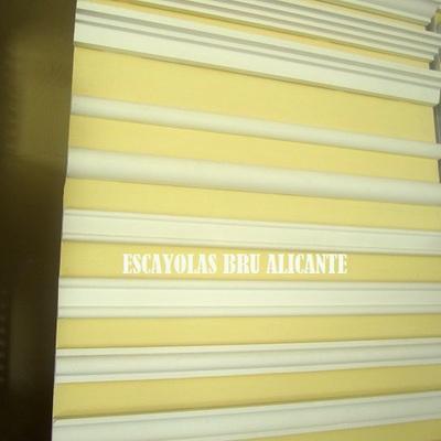 baquetones y cenefas de escayola en Alicante