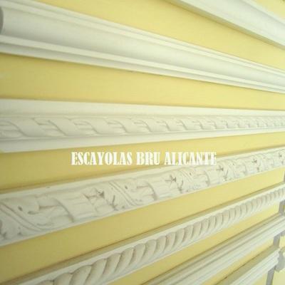 cenefas de cordones de escayola http://escayolasbru.blogspot.com.es/