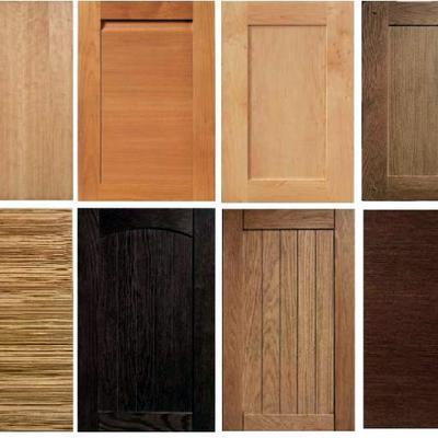Puertas en chapa de madera