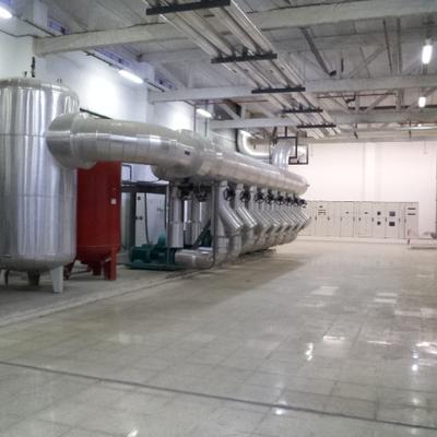 Central producción térmica