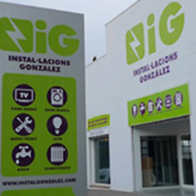 Logo y rotulación Instal·laciones González