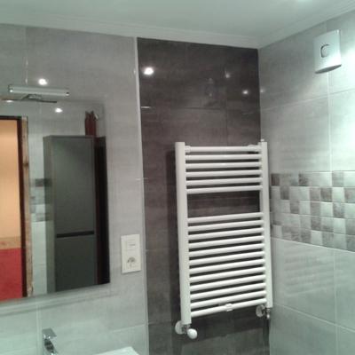 Reforma de baño en Gijon.