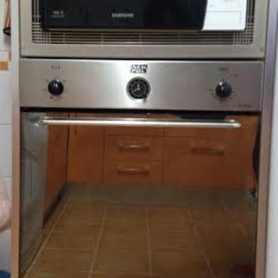 horno y  microondas empotrados