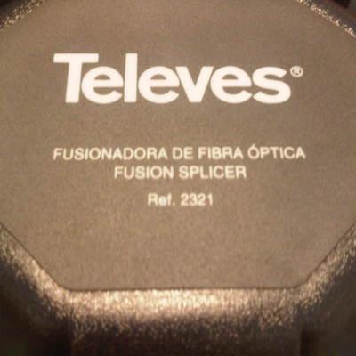 Fusionadora de Fibra Óptica Televés