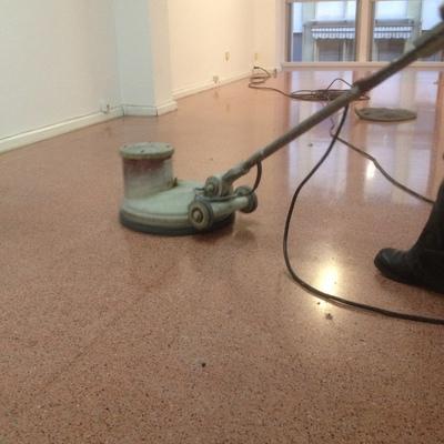 Cristalizado de pavimentos