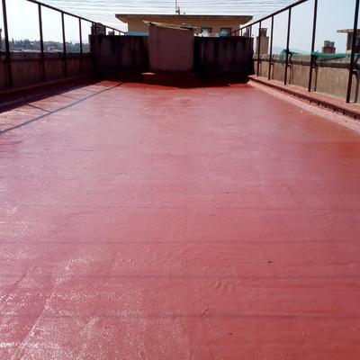 Impermeabilización finalizada de terrado comunitario
