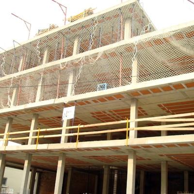 obra bloque de pisos