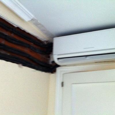 Obra climatización vivienda completa
