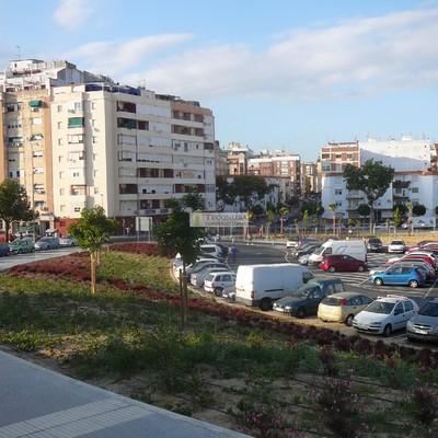 Aparcamiento de Isla Chica (Huelva)