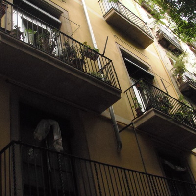 Restauración de fachada en Barcelona