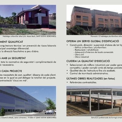 Obras realizadas y servicios que ofrecemos.