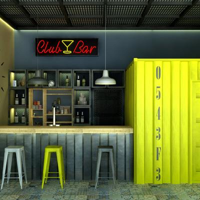 Proyecto de decoración de Pub - Granada