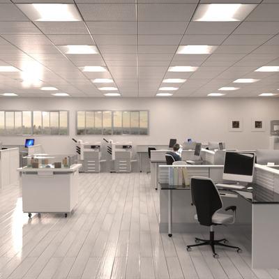 INSTALACIÓN DE ALUMBRADO LED - OFICINAS
