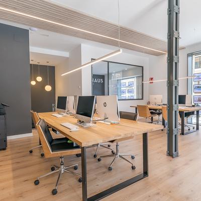 Reforma de oficina vintage