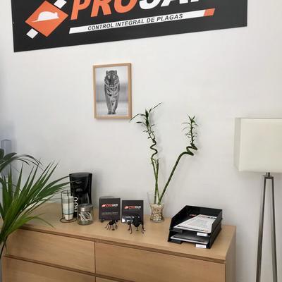 Nuestra oficina, donde desempeñamos las labores de administración y coordinación.