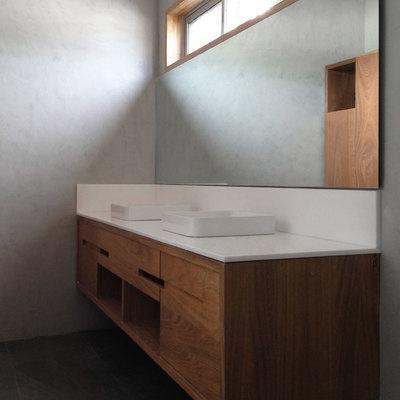 Lavabo para dormitorio secundario de una villa (Santo Domingo, República Dominicana)