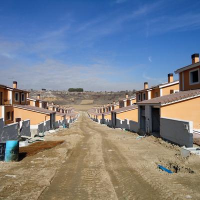 Valladolid, Fuensaldaña. Onexit Monocapa Universal sobre Ytong.