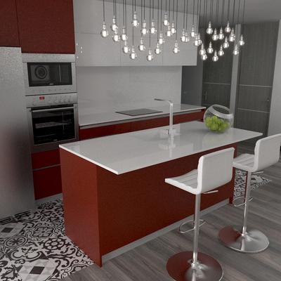 Reforma de Cocina y comedor, para mas informacion Visita www.rysibcn.com