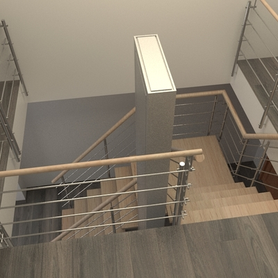 Reforma de escaleras.