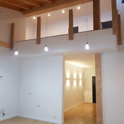 Salón a doble altura