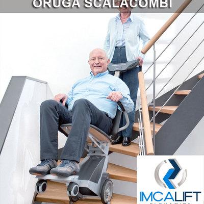 Oruga salvaescaleras Scalacombi