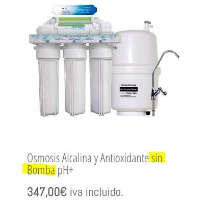 Osmosis Alcalina y Anti-Oxidante / OIB