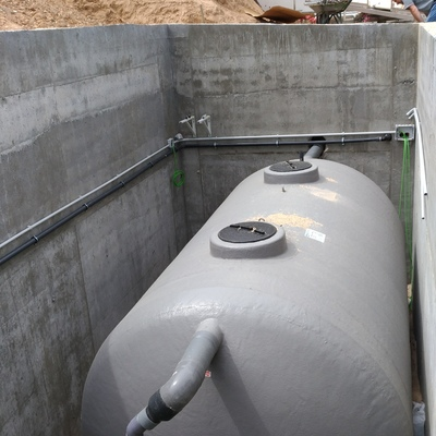 Depuradora  Bodegas Lynus en Quintanilla de Arriba (VA)