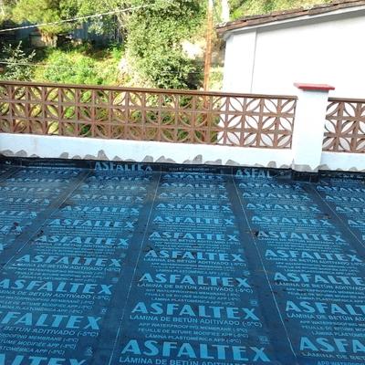 Colocacción de tela asfaltica