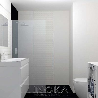 Baño para piso moderno