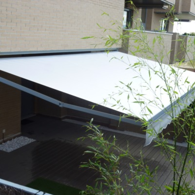 Toldo Brazos Extensibles Patio