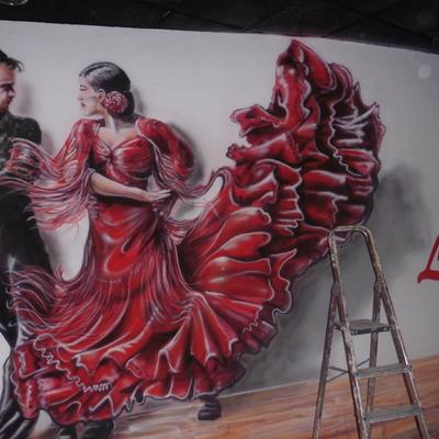 mural restaurante lolailo