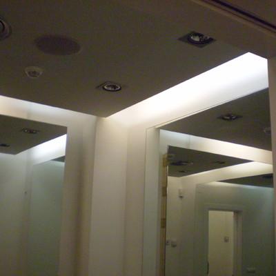 Decoración en Pladur y luces LED