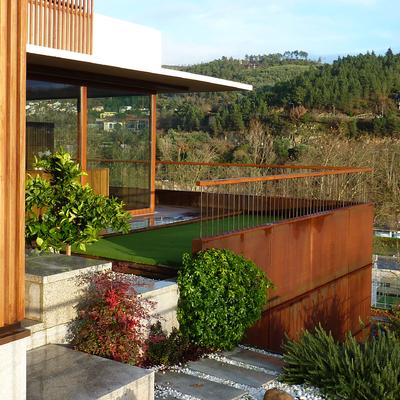 Fachada vivienda en Ourense