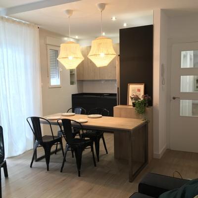 Reforma integral y mobiliario piso 110m2