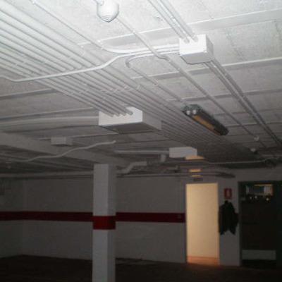 Instalación Garaje Comunitario