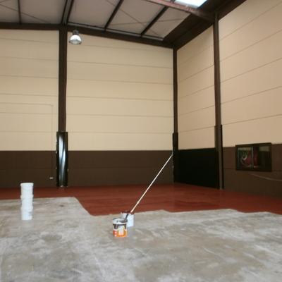 Pintura de suelo anti deslizante
