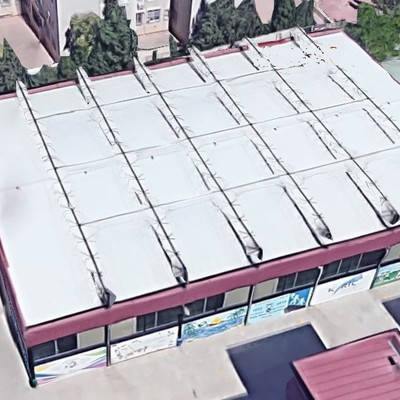 Pabellón deportivo en el Colegio Sta. Mª del Carmen (Murcia)