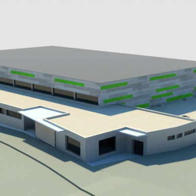 Pabellón Polideportivo Municipal (proyecto)
