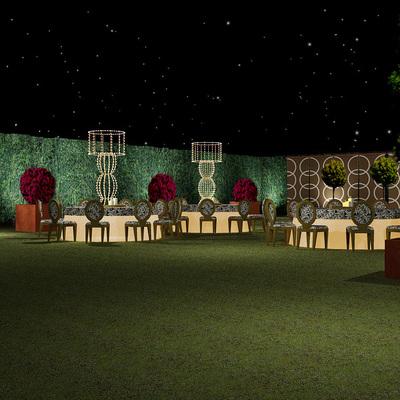 Paisajismo Jardín para Eventos