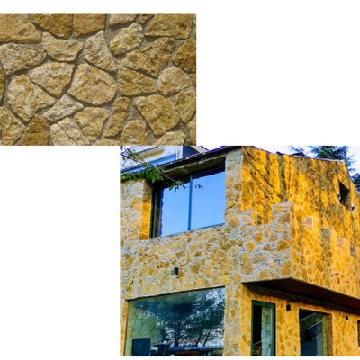 piedra  paja rustica