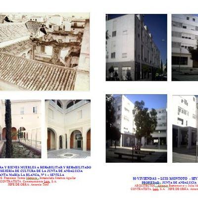 Palacio de altamira y viviendas en luis montoto