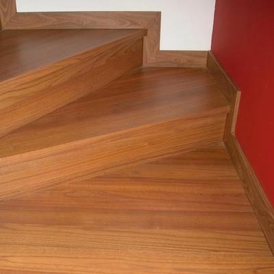 Curva de la escalera