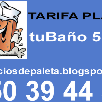 Paleta tarifa plana tuBaño500€